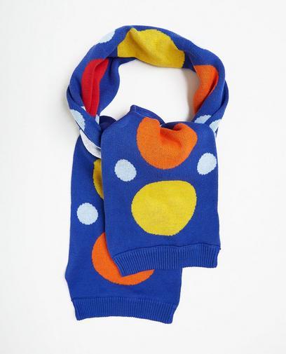 Sjaal met kleurrijke print